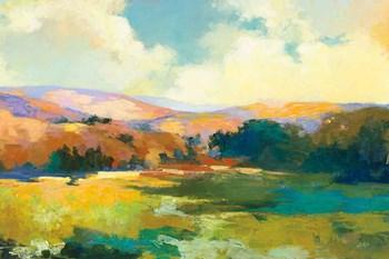 Daybreak Valley Crop by Julia Purinton art print