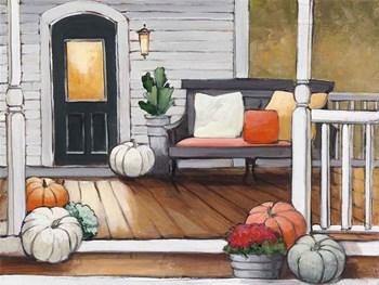 October Evening by Julia Purinton art print