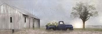 Jonestown Barn by Lori Deiter art print