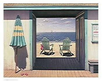 Beach Club by Daniel Pollera art print