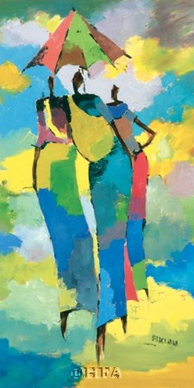 Harar Woman I by Aklilu Temesgen art print