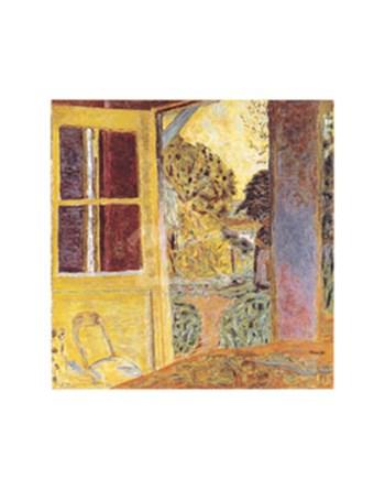 Door Open onto the Garden by Pierre Bonnard art print