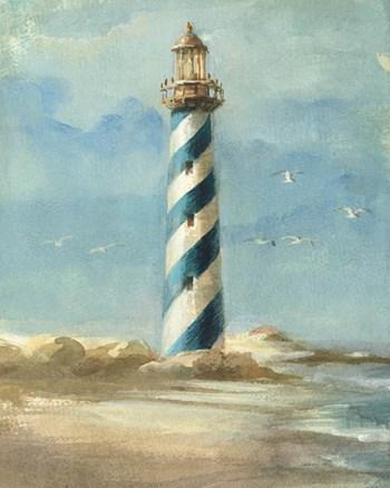 Lighthouse I by Danhui Nai art print