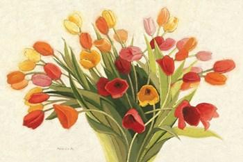 Spring Tulips by Shirley Novak art print
