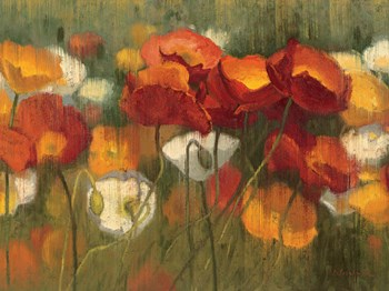 The Power of Red II by Shirley Novak art print