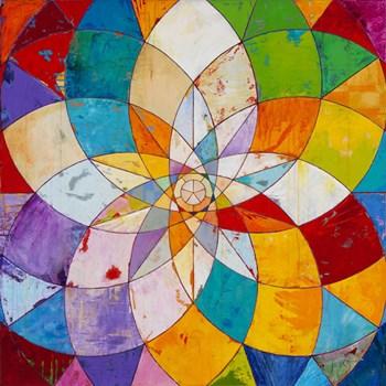 Kaleidoscopic by James Wyper art print