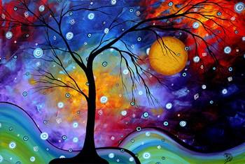 Winter Sparkle by Megan Duncanson art print