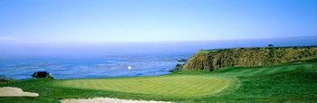Pebble Beach Golf Course, Monterey County, California by Panoramic Images art print