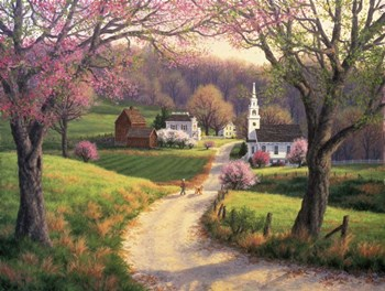 April Morning by Randy Van Beek art print