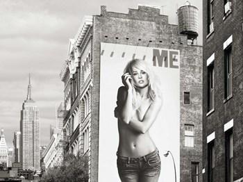 Billboards in Manhattan #2 by Julian Lauren art print