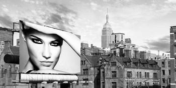 A Billboard in Manhattan by Julian Lauren art print