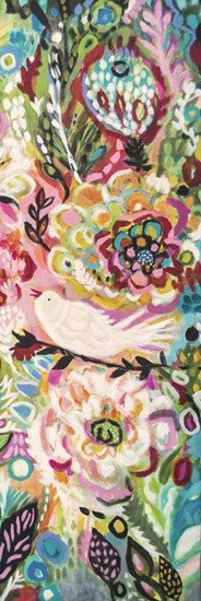 Soulful Birds II by Karen Fields art print