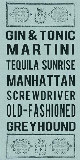 Cocktails by Sandy Lloyd art print