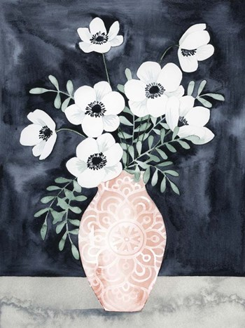 Nighttime Anemones II by Grace Popp art print