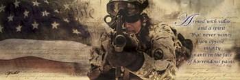 Armed With Valor by Jason Bullard art print