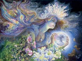Princess Of Light by Josephine Wall art print
