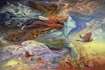 Spirit Of Flight by Josephine Wall art print