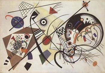 Durchgehender Strich by Wassily Kandinsky art print