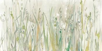 Autumn Grass Green by Avery Tillmon art print