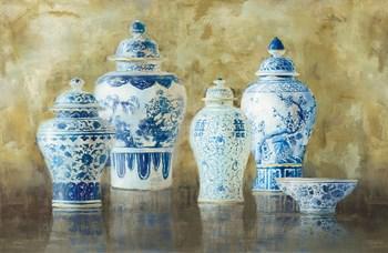 Ginger Jar Still Life v.2 by Danhui Nai art print