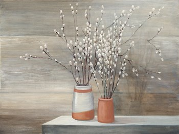 Pussy Willow Still Life by Julia Purinton art print