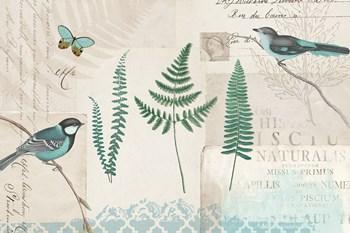 En Bleu XIII by Katie Pertiet art print