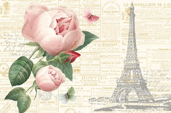 Roses in Paris II by Katie Pertiet art print
