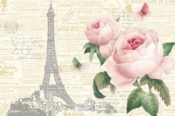 Roses in Paris I by Katie Pertiet art print