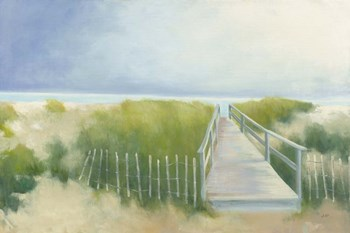 Beach Walk by Julia Purinton art print