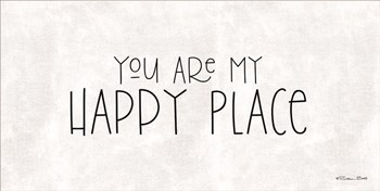 You Are My Happy Place by Susan Ball art print